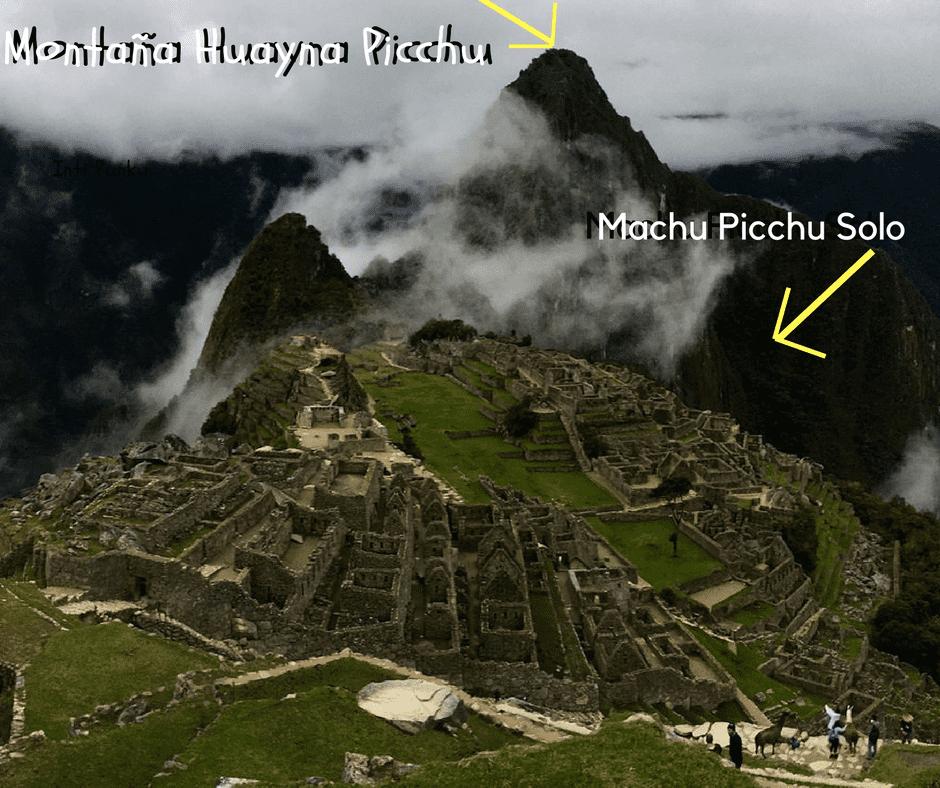 Machu Picchu Más Huayna Picchu